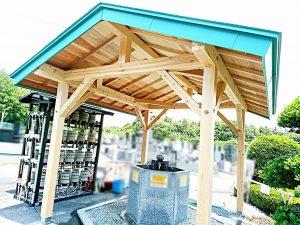 水汲み場/手桶置き場①