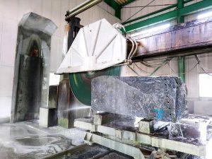 石材の切削/加工作業